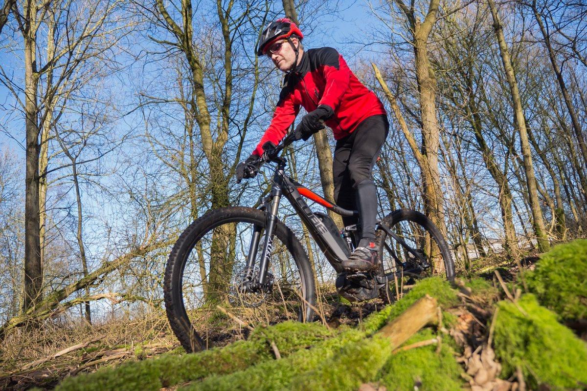 Joy of mountain biking
