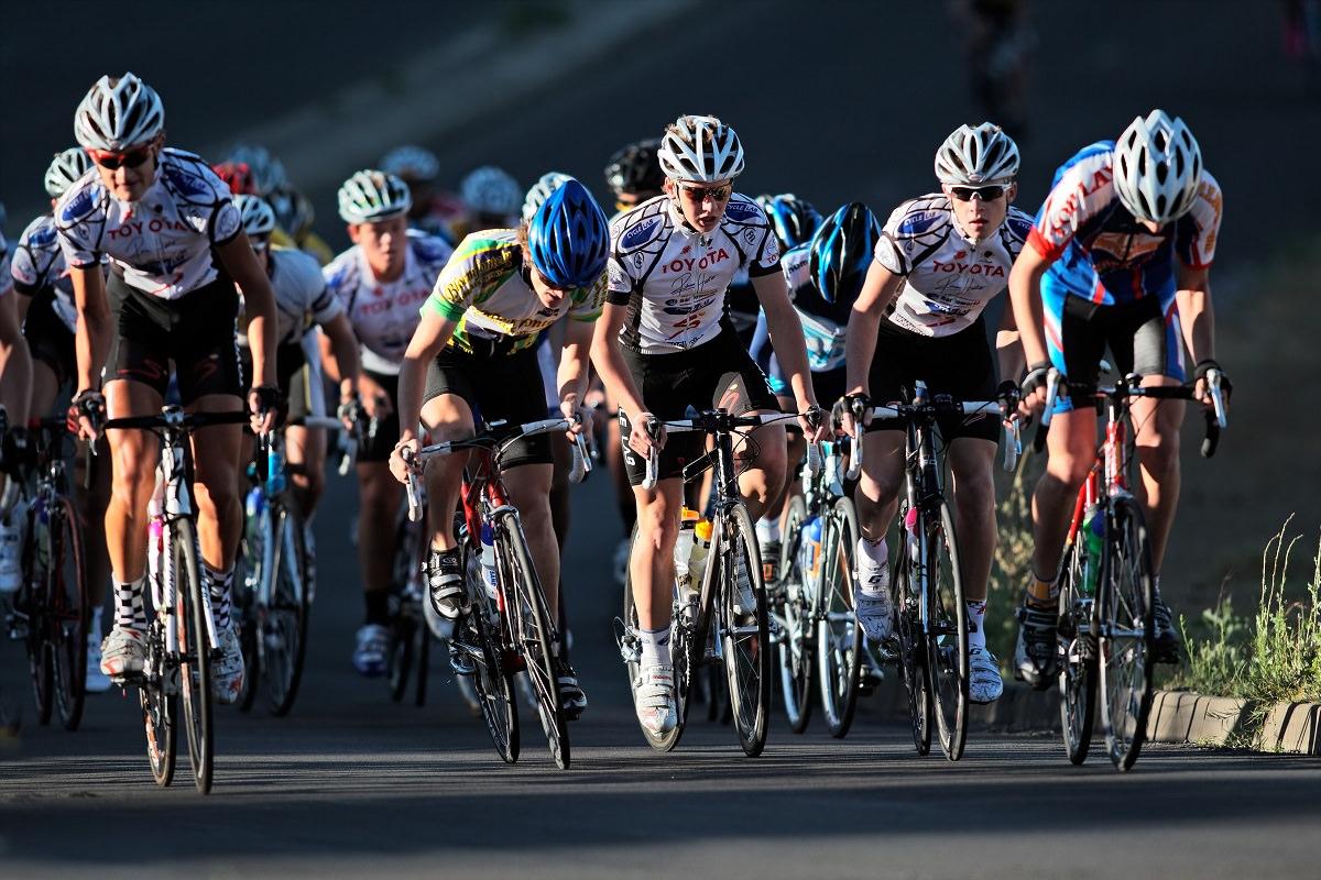 Final part of a race