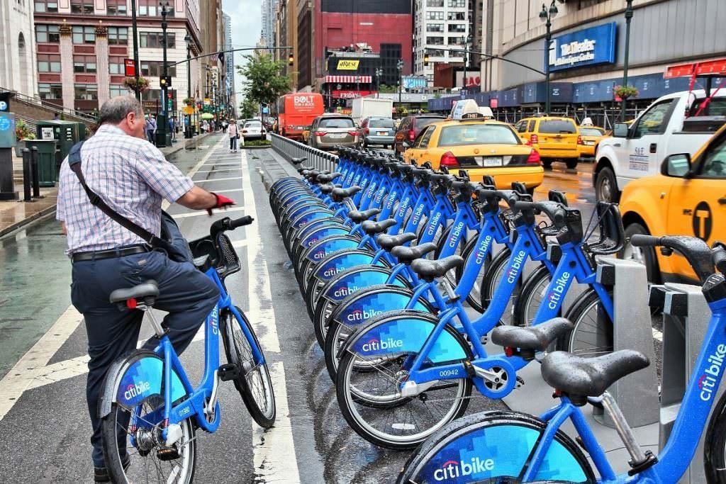 Bike sharing in New York