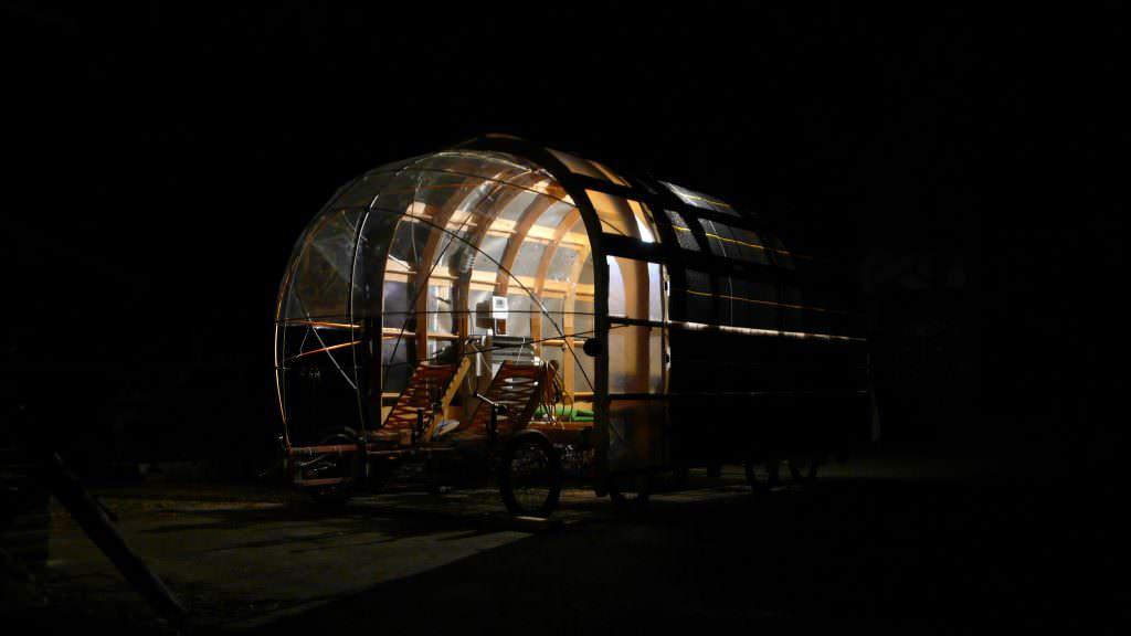 8rad bike in the night