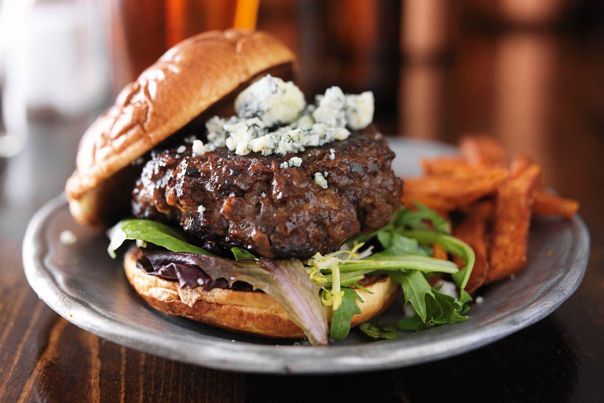 North Carolina burger