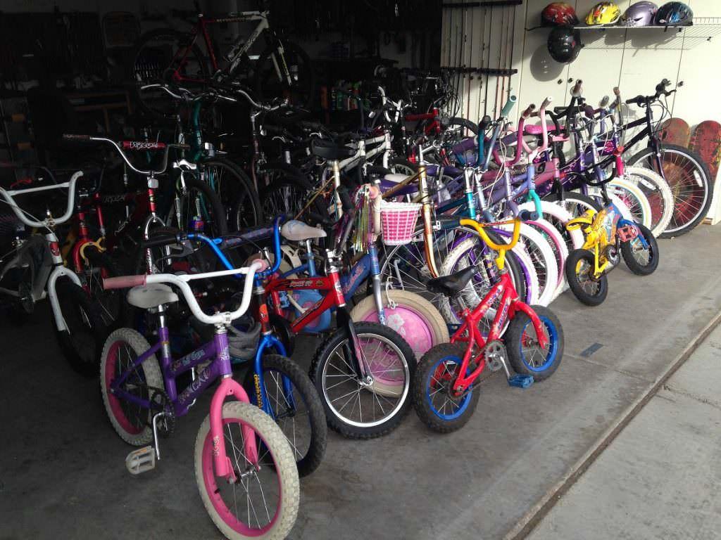 Bikes in Bobs garage
