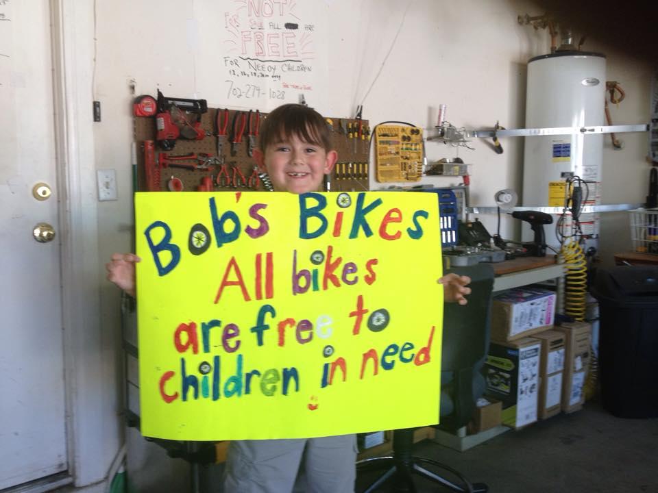 Bobs Bikes sign