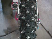 Brians studded tires, diagram