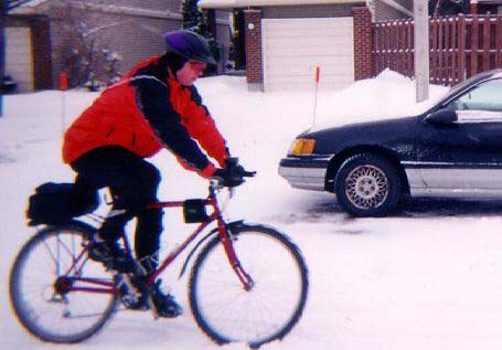 Winter cycling in Ottawa, Canada