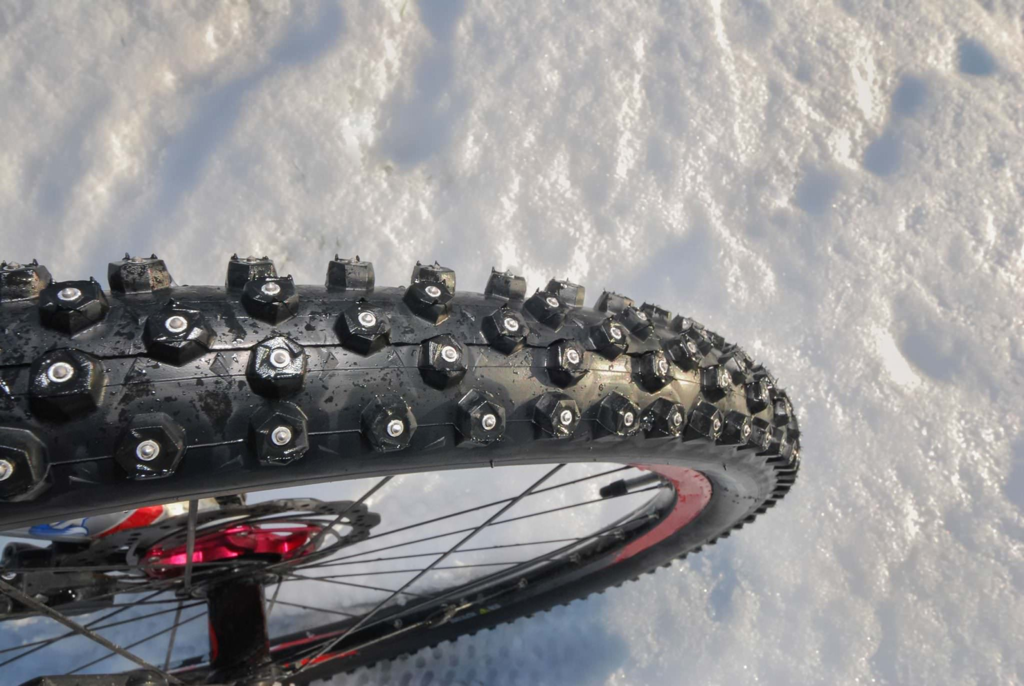 the ultimate guide to winter bike tires and studded tires
