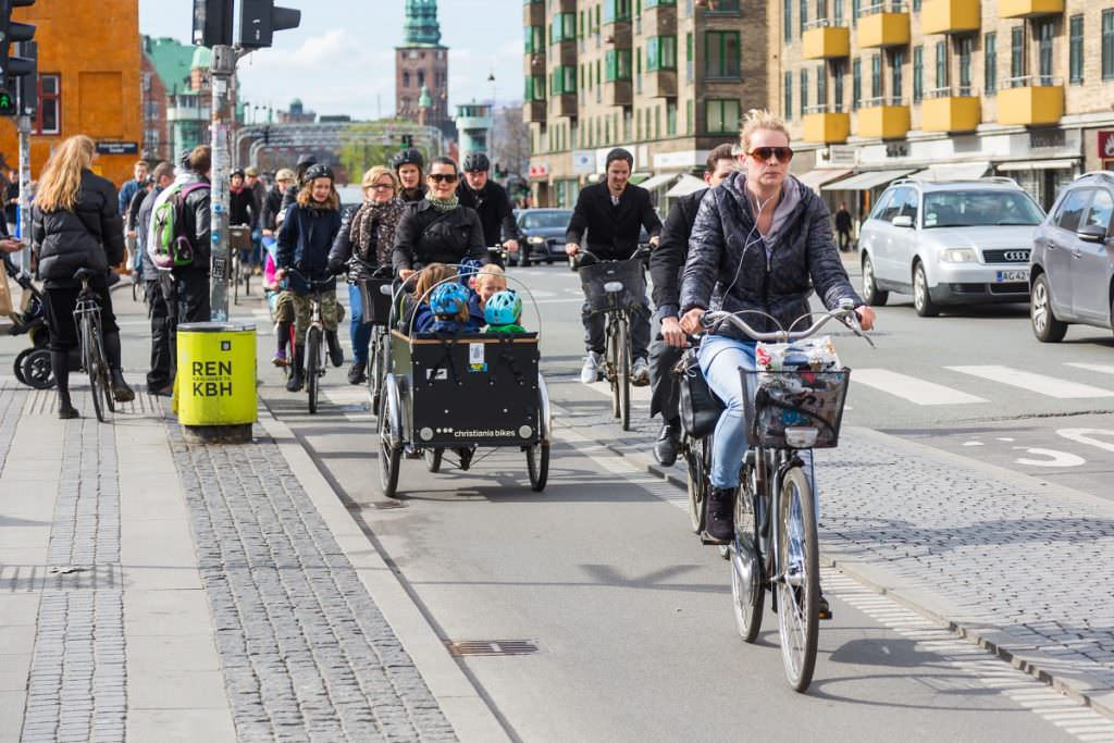 Cargo bike and other bikes