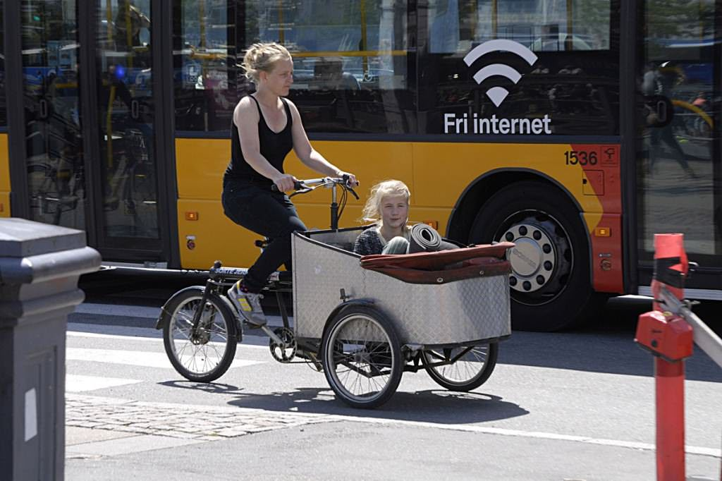 Cargo bike in Copenhagen