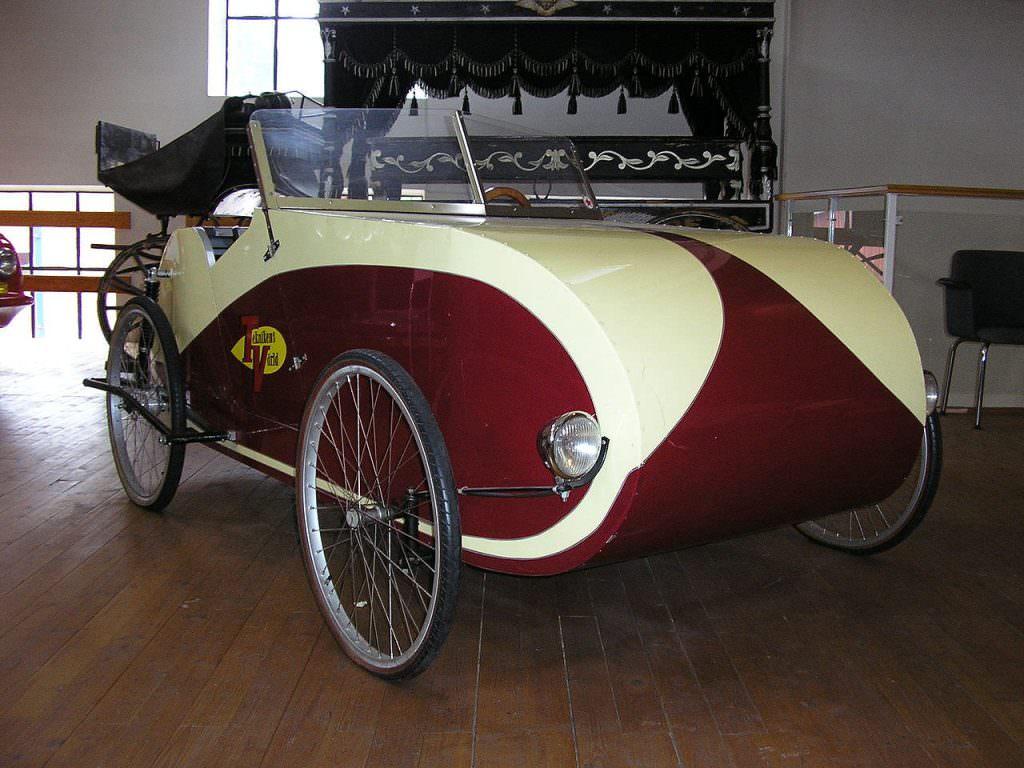 Fantom velomobile