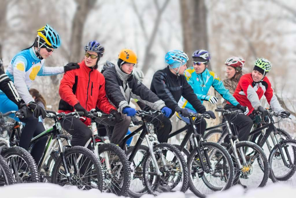 Ice bikers