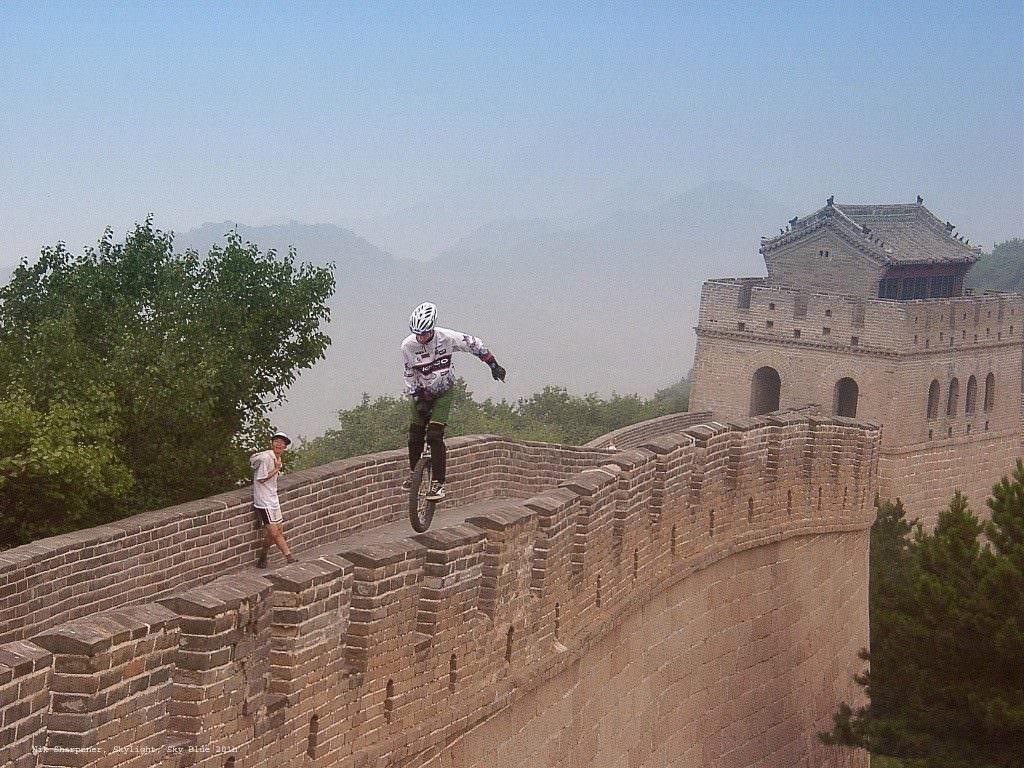 Kris Holm, China wall