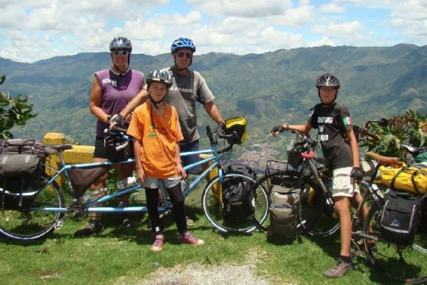 Biking from Alaska to Argentina with Two 10 Year Old Children