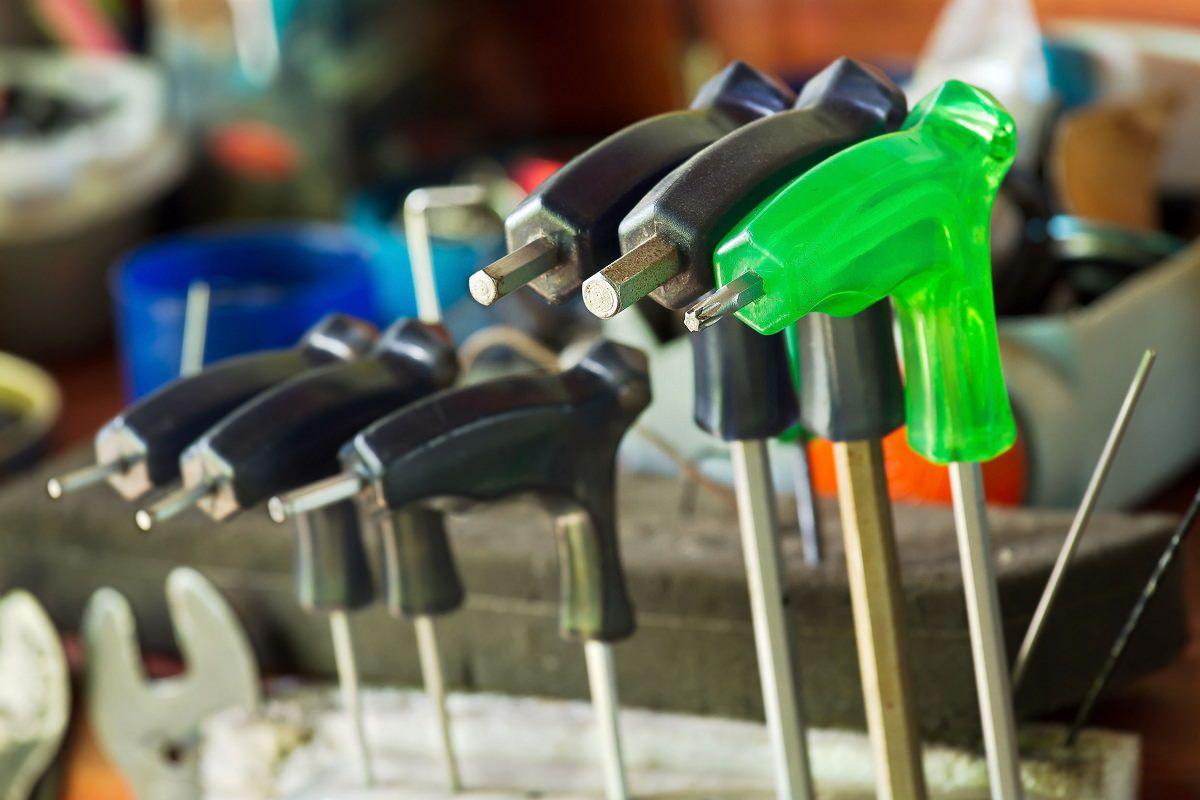 Screw drivers for bike repair