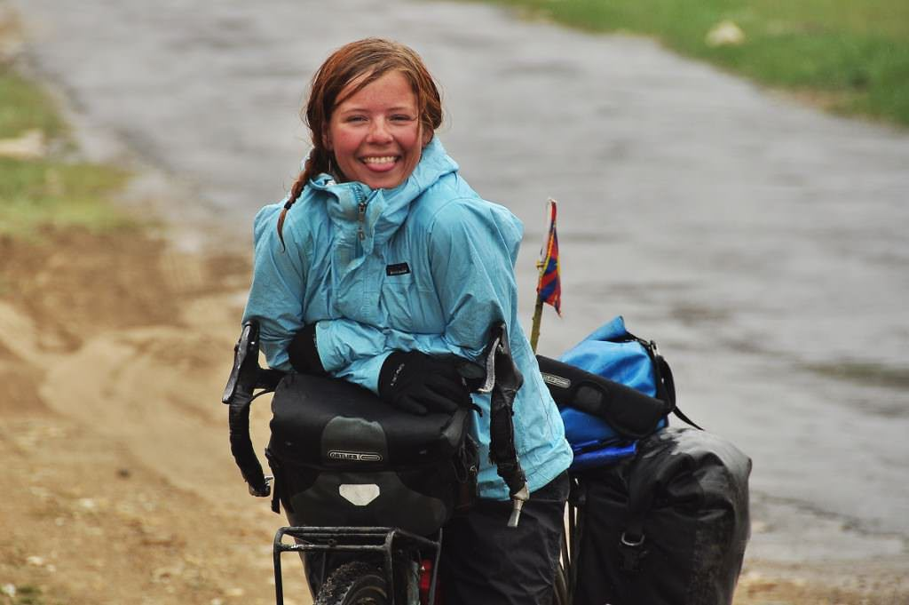 Shirine, bike rain