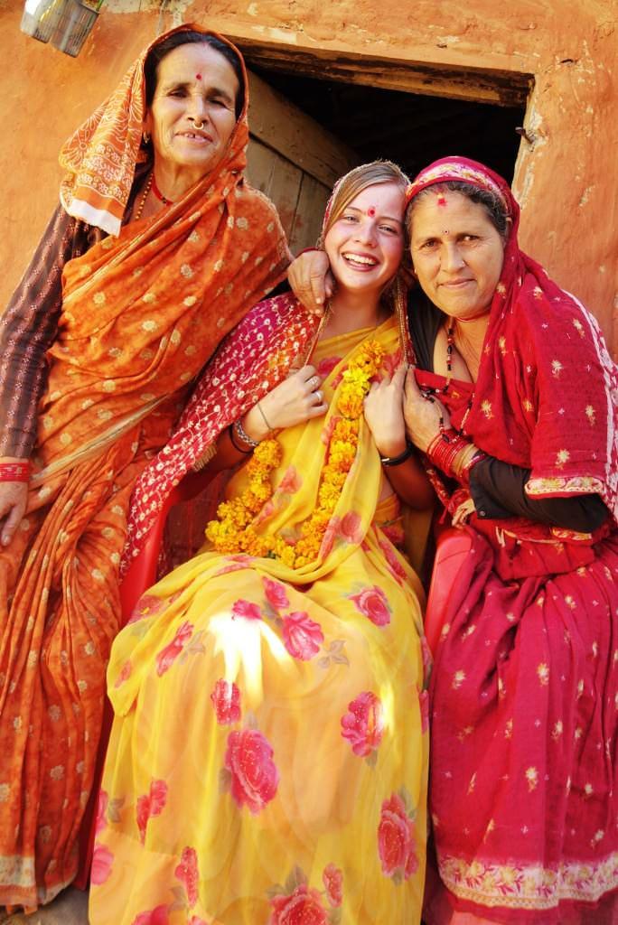 Shirine, Indian women