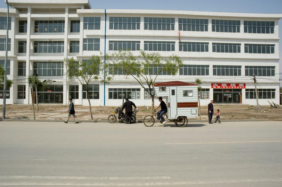 The camper bike, China street