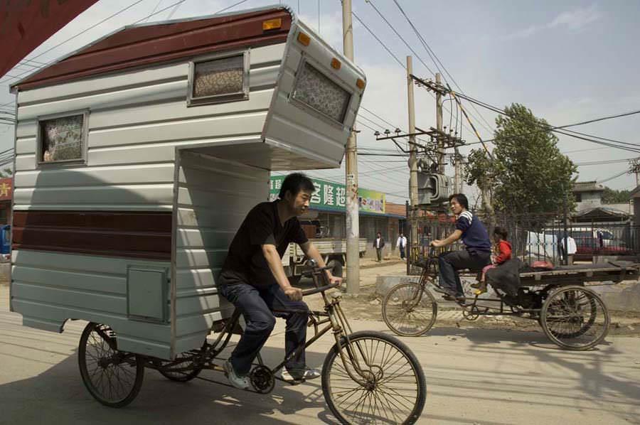 The camper bike