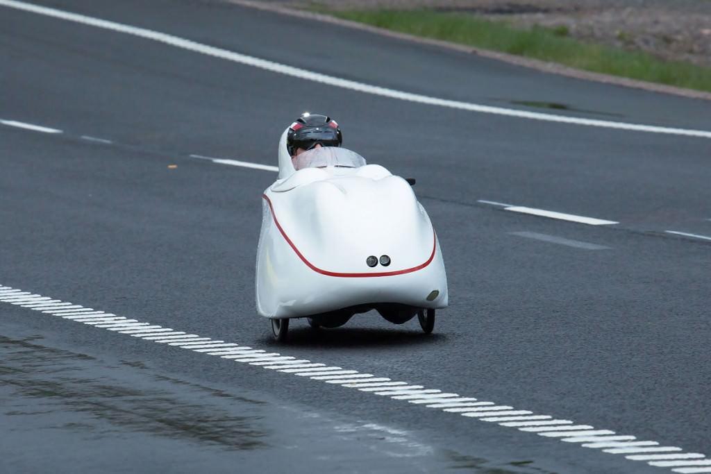 Fast velomobile