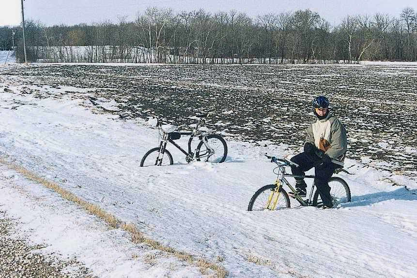 Winter cycling stories