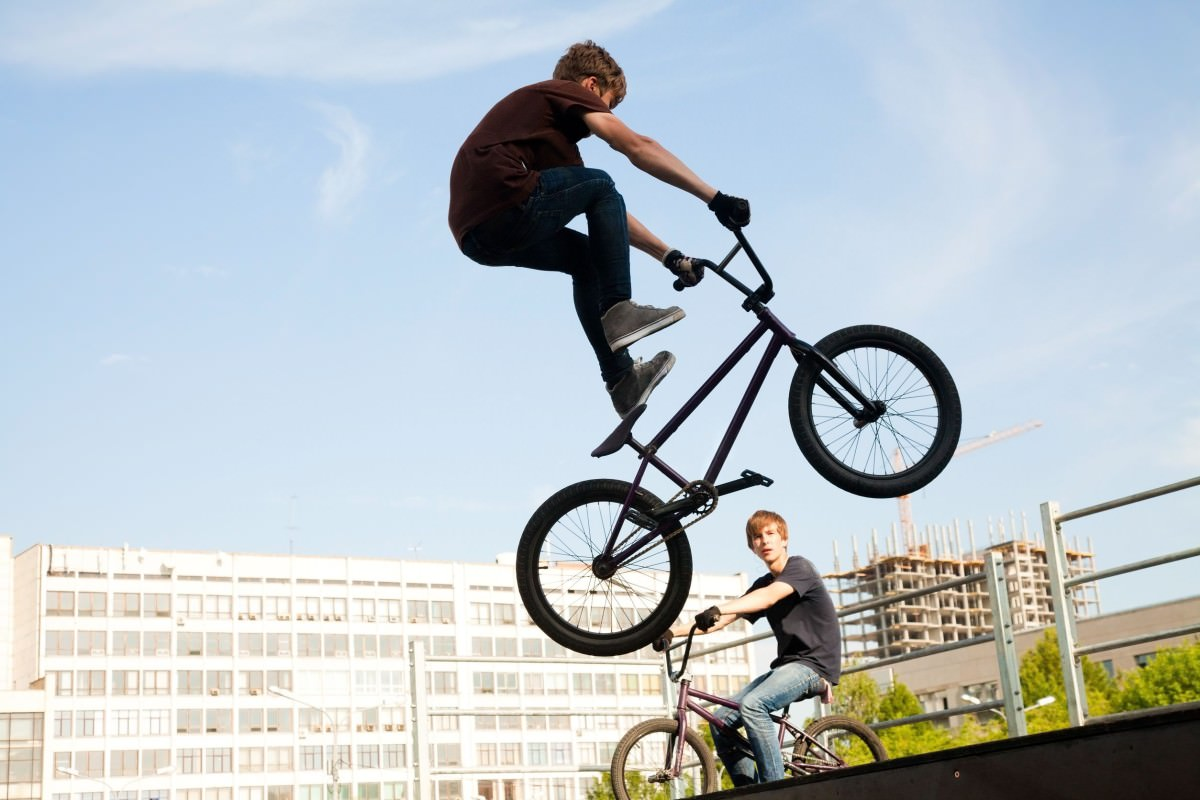 freestyle bmx bikes riders