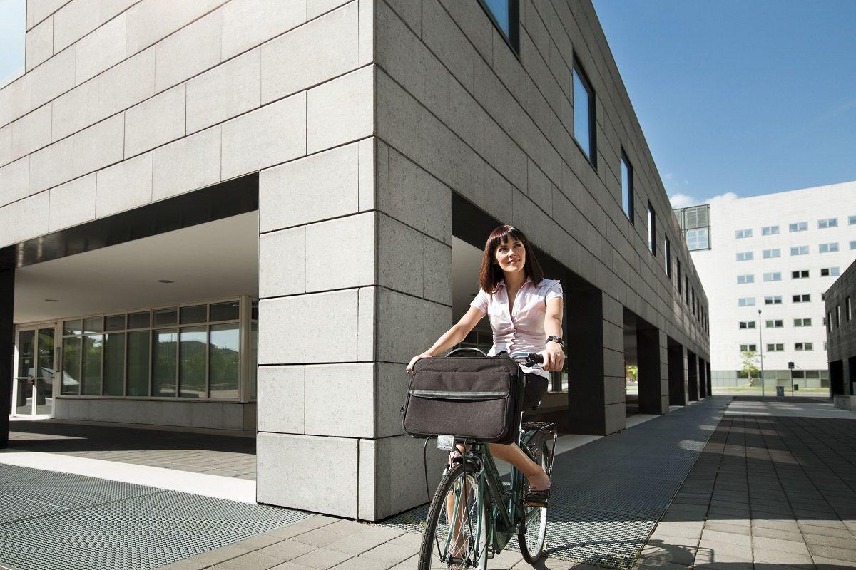 Biking to business work