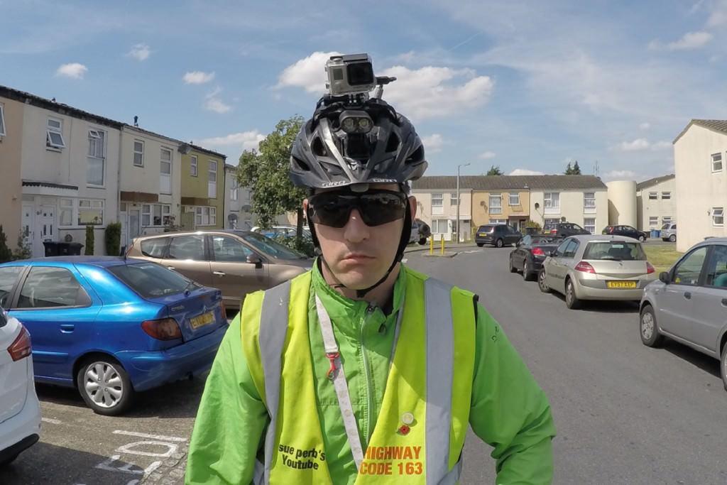 Dave Sherry helmet