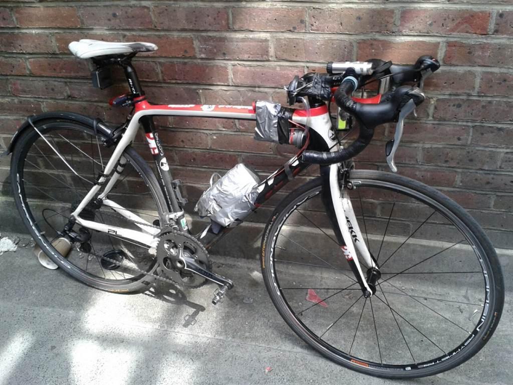 Dave Sherry road bike