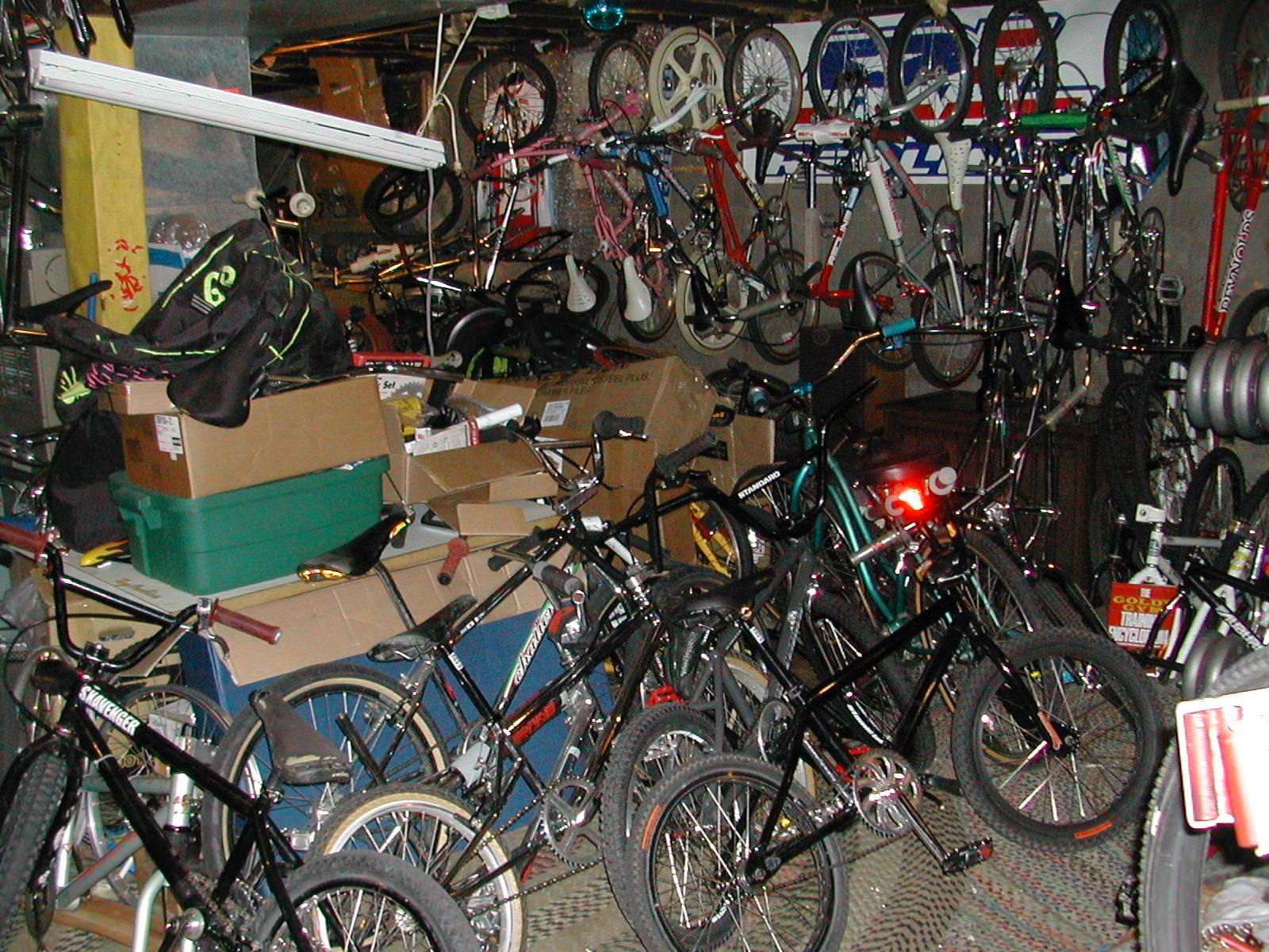 Garys BMX basement