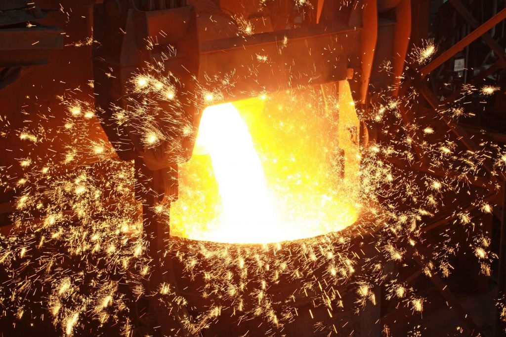 Producing steel