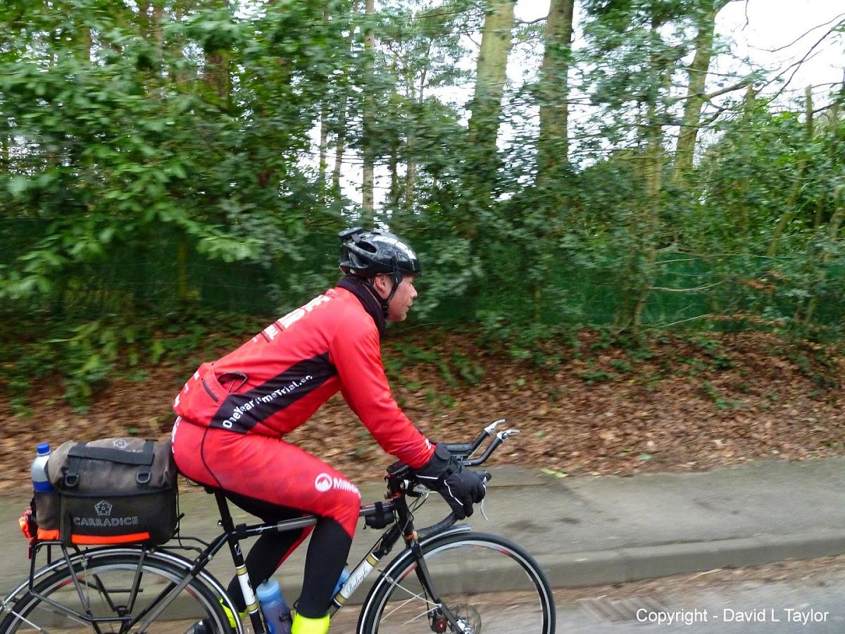 Steven Abraham riding