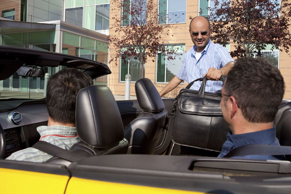 Car poolling with office colleges