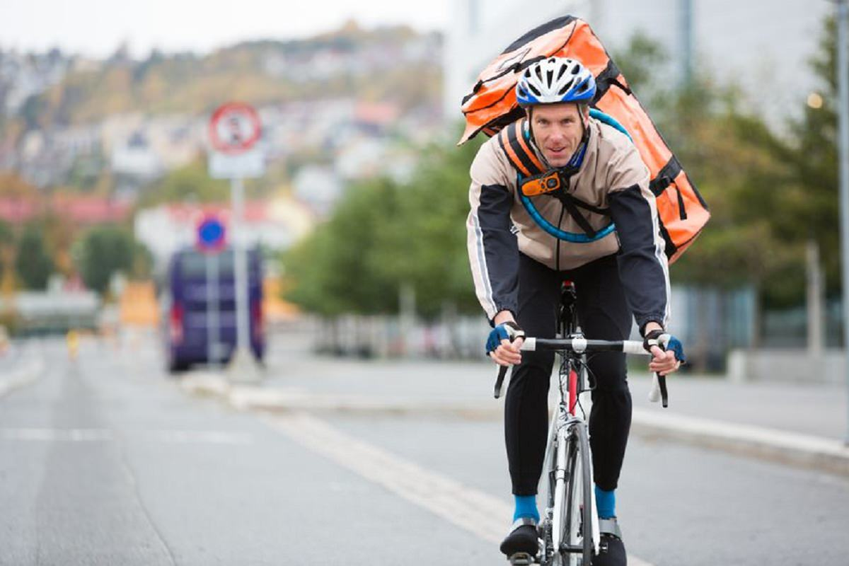 Courier service by bike