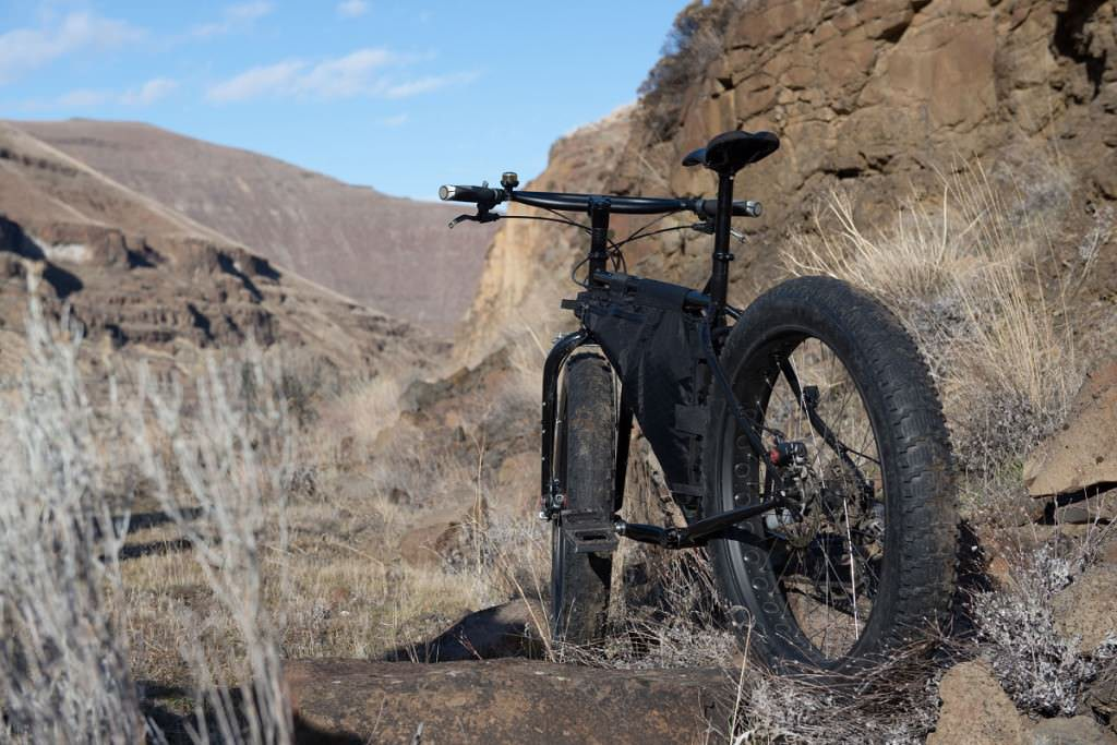 Lonely fatbike