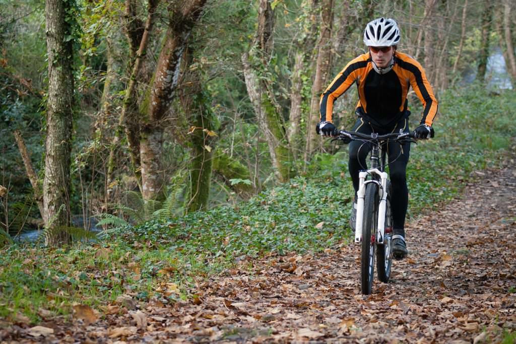 Mountain bike track