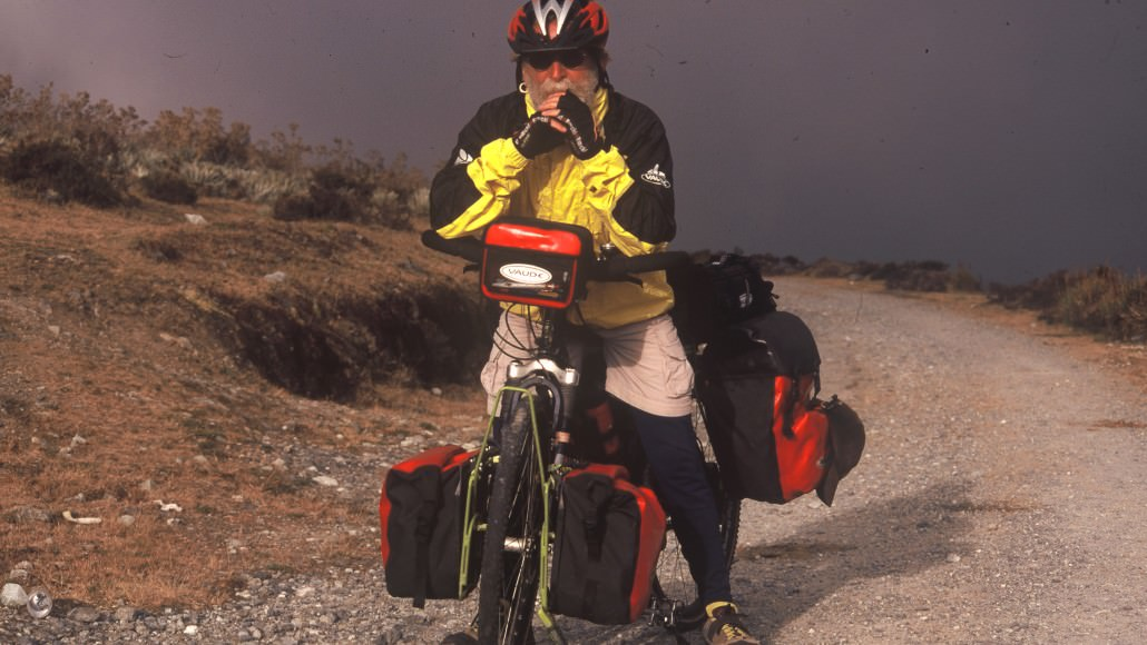 Tilmann Waldthaler Has Lived On His Bike For More Than 30 years