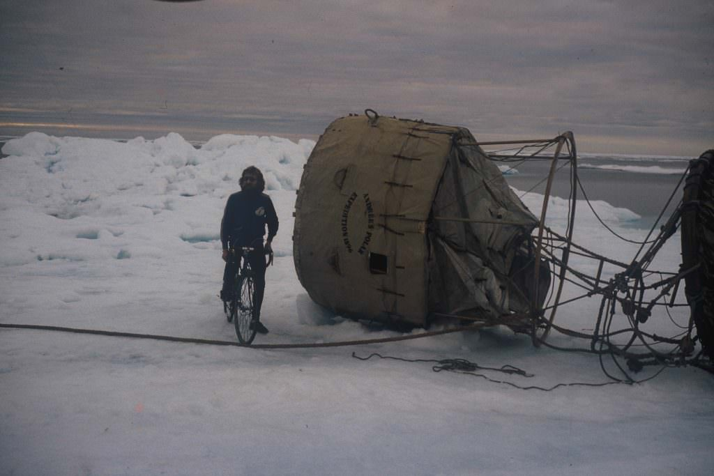 Cycling in Svalbard
