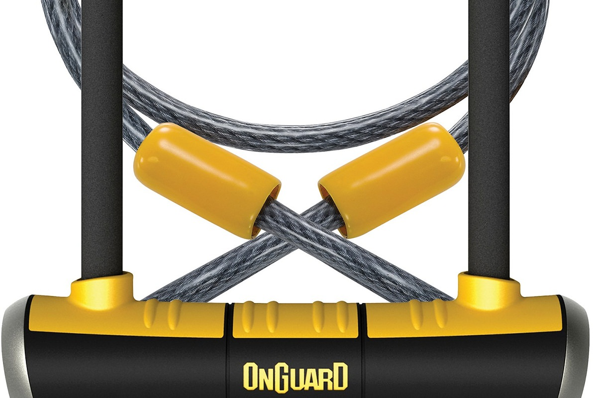 OnGuard PitBull DT U-Lock with Cable