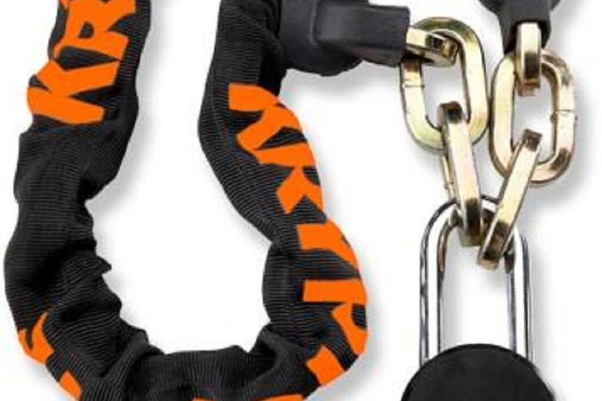 Kryptonite Chain Lock with Moly Padlock