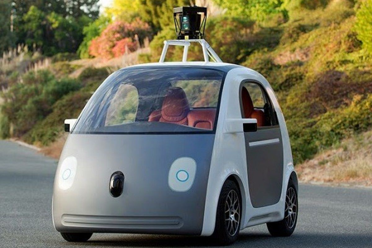 Goggle car