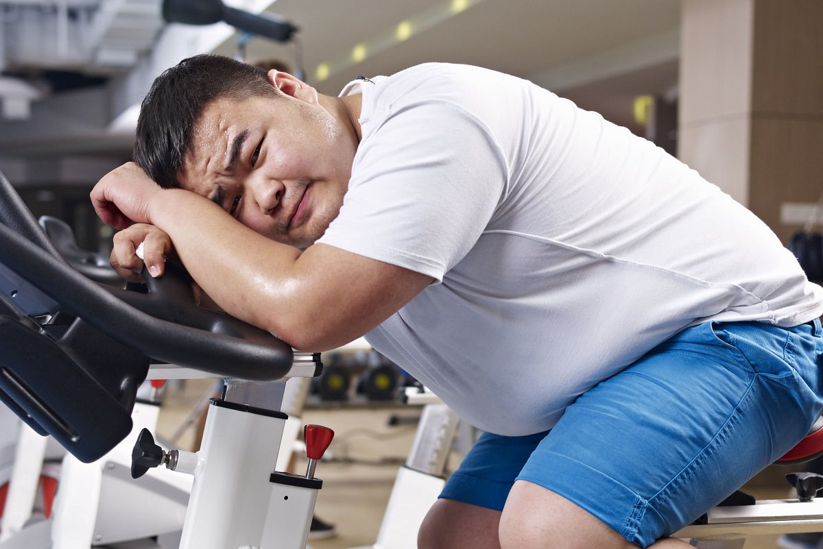 Tired after exercise