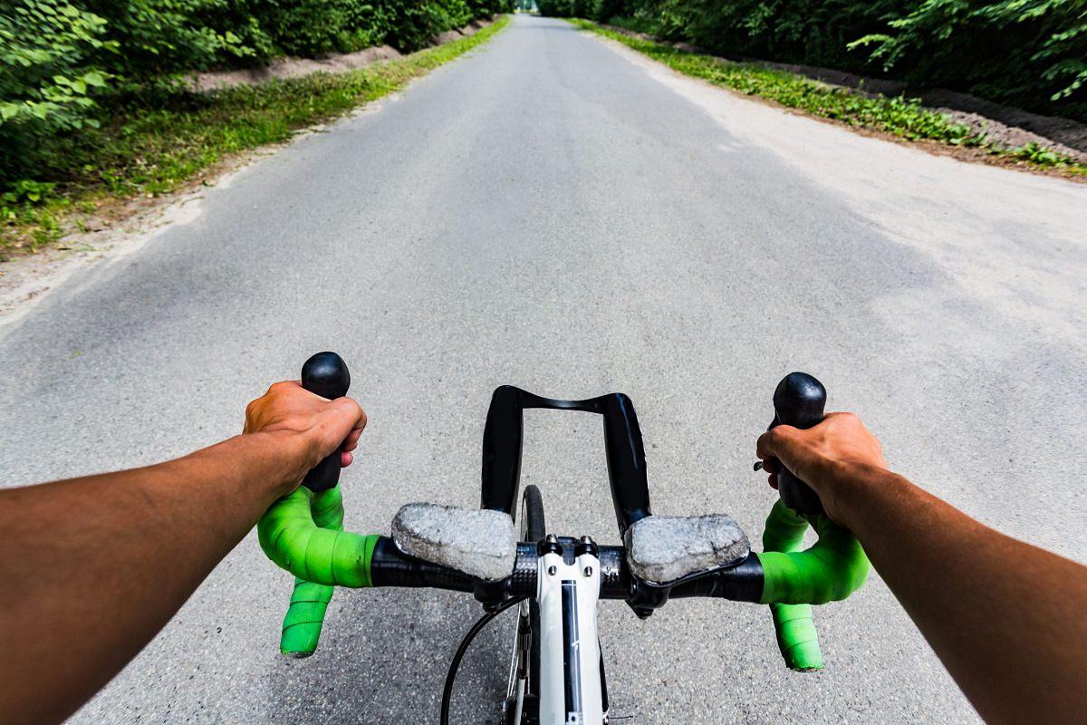 Road bike handlebar