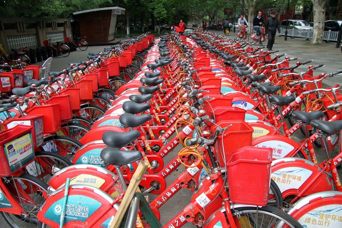 Hangzhou bike sharing