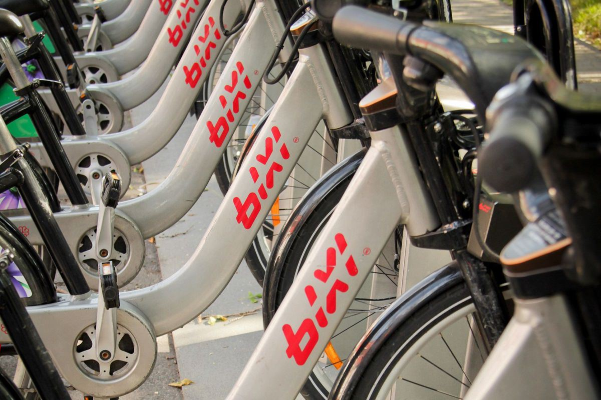 Montreal bike sharing