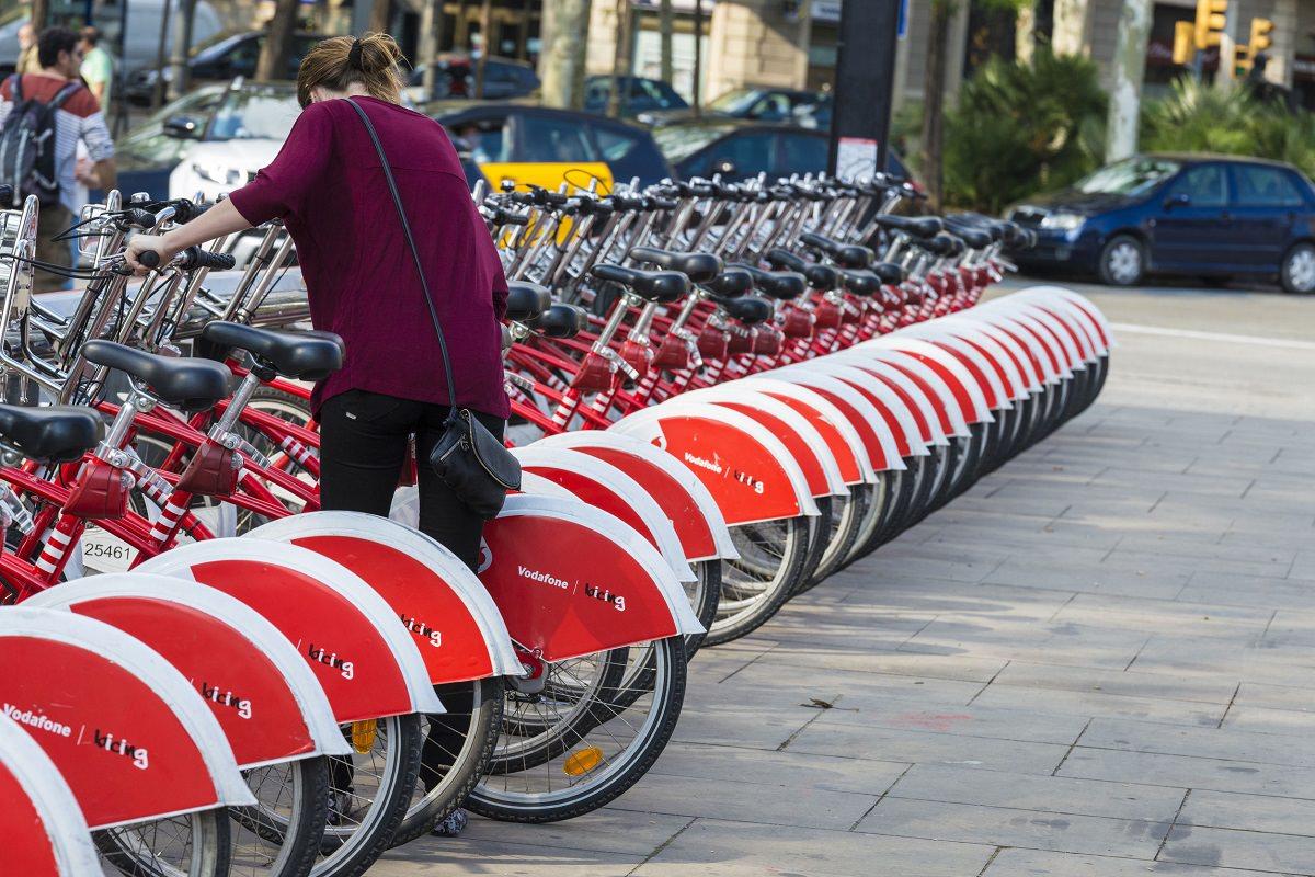 Barcelona bike sharing