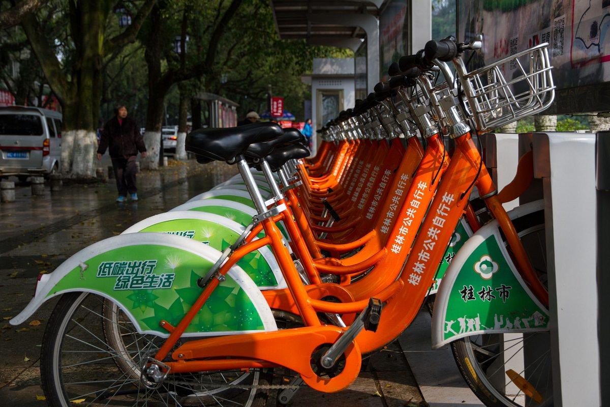 Shanghai bike sharing