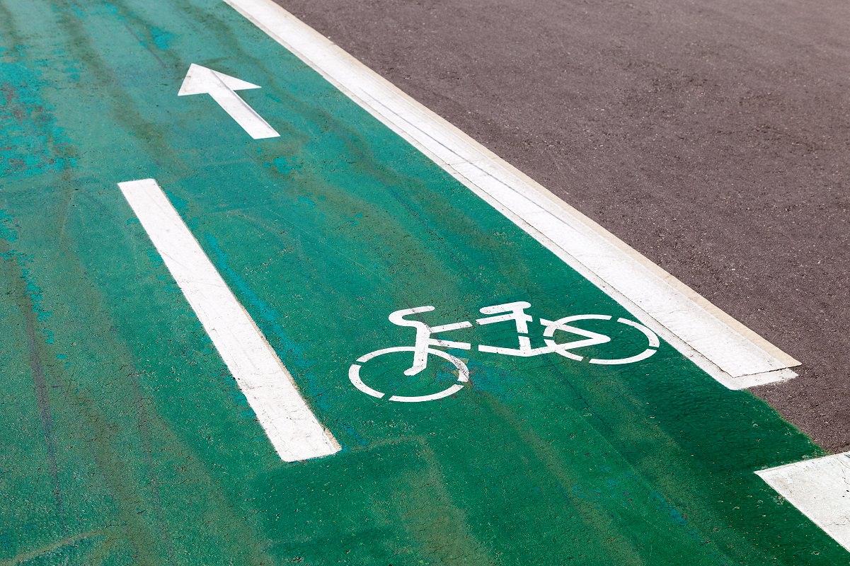 Nice bike lane