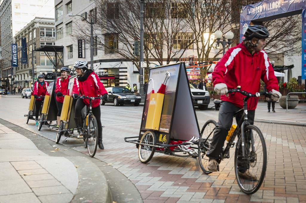 Bike billboards