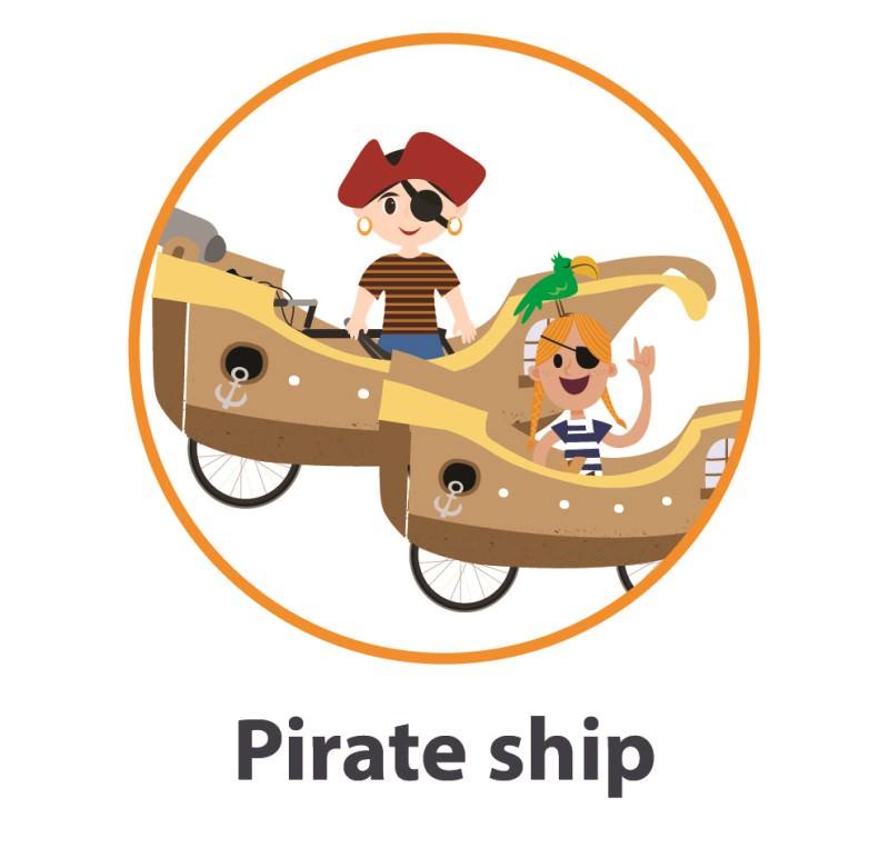 Pirate ship costume
