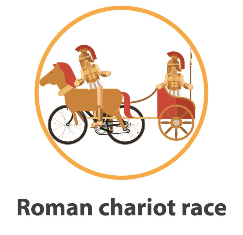 Roman chariot race costume