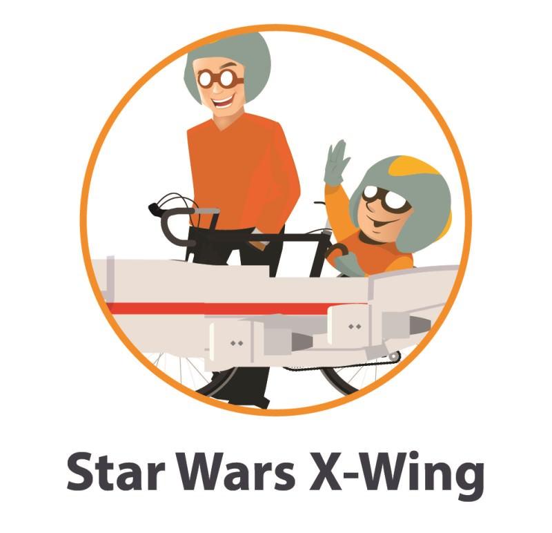 Star Wars X-wing costume
